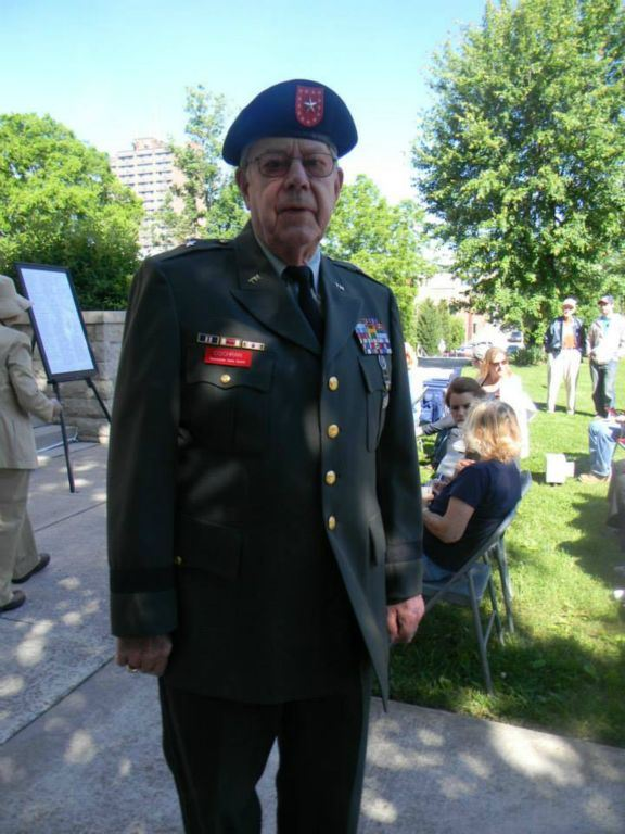Image of veteran in uniform
